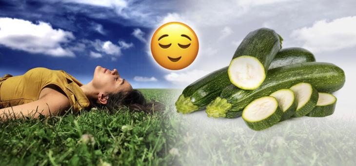 Lo sapevi che… la zucchina ha effetti rilassanti e aumenta la sensazione di sazietà!
